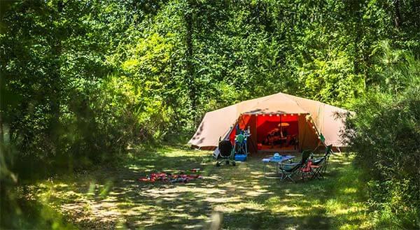 Emplacements pour tentes